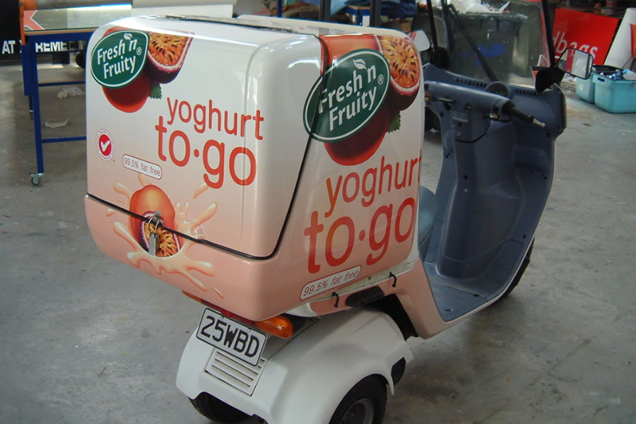 Signs-albany-scooter-signwriting-vehicle wraps-service-auckland-local-signwriter